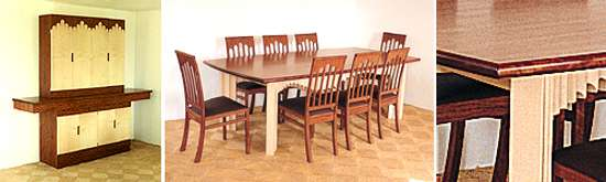 alhambra dining room furniture by alan peters OBE