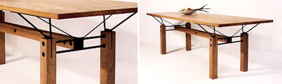 dining table by walter jack